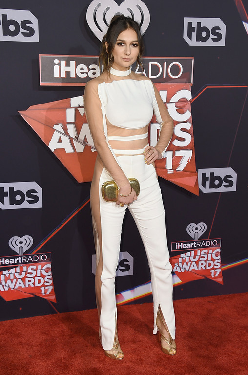 . Daya arrives at the iHeartRadio Music Awards at the Forum on Sunday, March 5, 2017, in Inglewood, Calif. (Photo by Jordan Strauss/Invision/AP)