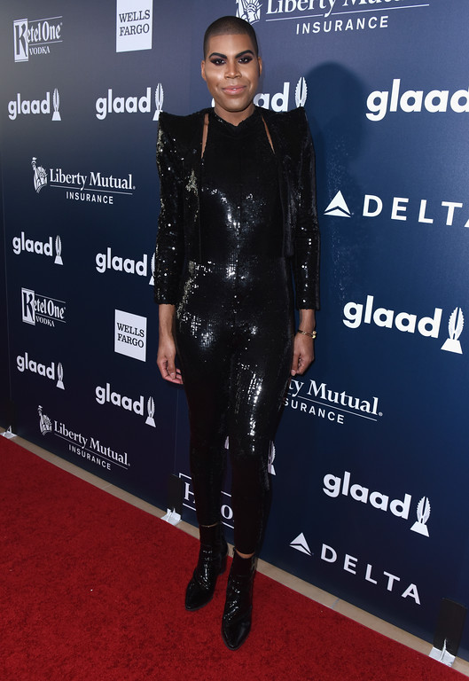 . BEVERLY HILLS, CA - APRIL 01:  EJ Johnson attends the 28th Annual GLAAD Media Awards in LA at The Beverly Hilton Hotel on April 1, 2017 in Beverly Hills, California.  (Photo by Vivien Killilea/Getty Images for GLAAD)