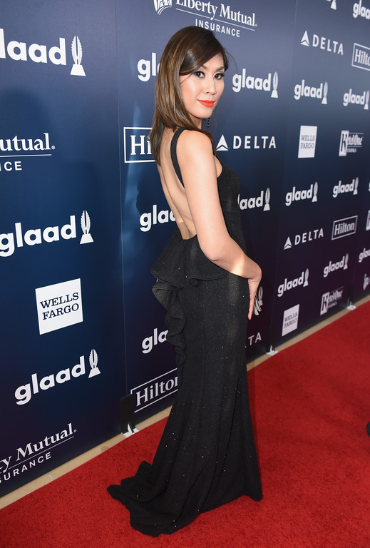 . BEVERLY HILLS, CA - APRIL 01:  Actor Rain Valdez attends the 28th Annual GLAAD Media Awards in LA at The Beverly Hilton Hotel on April 1, 2017 in Beverly Hills, California.  (Photo by Vivien Killilea/Getty Images for GLAAD)