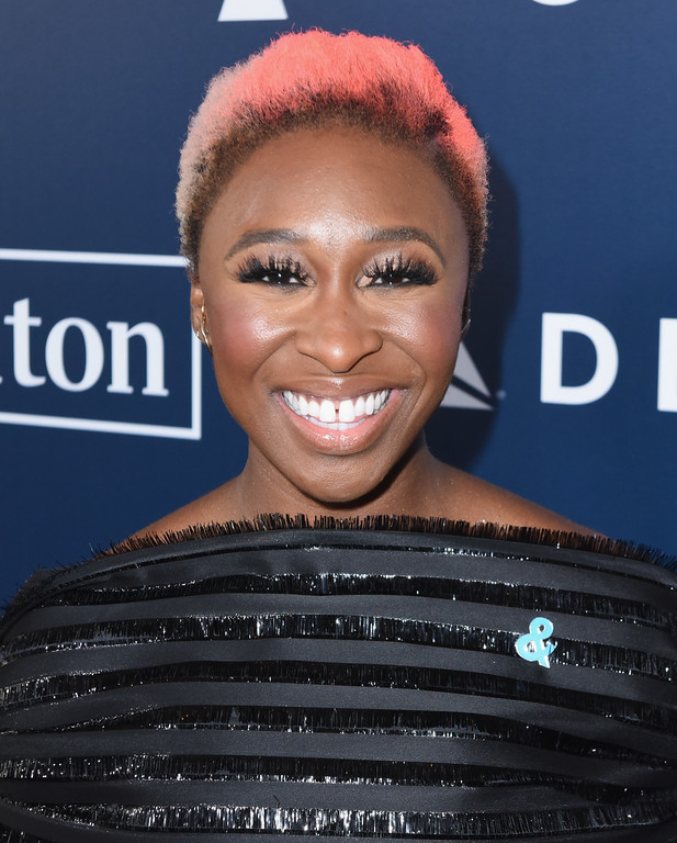 . BEVERLY HILLS, CA - APRIL 01:  Actor Cynthia Erivo attends the 28th Annual GLAAD Media Awards in LA at The Beverly Hilton Hotel on April 1, 2017 in Beverly Hills, California.  (Photo by Vivien Killilea/Getty Images for GLAAD)