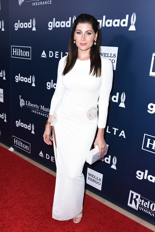 . BEVERLY HILLS, CA - APRIL 01:  ActorTrace Lysette attends the 28th Annual GLAAD Media Awards in LA at The Beverly Hilton Hotel on April 1, 2017 in Beverly Hills, California.  (Photo by Vivien Killilea/Getty Images for GLAAD)