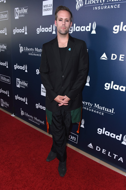 . BEVERLY HILLS, CA - APRIL 01:  Musician Justin Tranter attends the 28th Annual GLAAD Media Awards in LA at The Beverly Hilton Hotel on April 1, 2017 in Beverly Hills, California.  (Photo by Vivien Killilea/Getty Images for GLAAD)