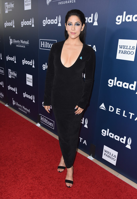 . BEVERLY HILLS, CA - APRIL 01:  Actor Stephanie Beatriz attends the 28th Annual GLAAD Media Awards in LA at The Beverly Hilton Hotel on April 1, 2017 in Beverly Hills, California.  (Photo by Vivien Killilea/Getty Images for GLAAD)