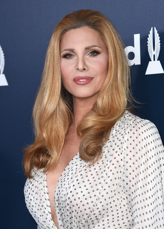 . Candis Cayne attends the 28th annual GLAAD Media awards at the Beverly Hilton hotel in Beverly Hills, California,  April 1, 2017. (CHRIS DELMAS/AFP/Getty Images)