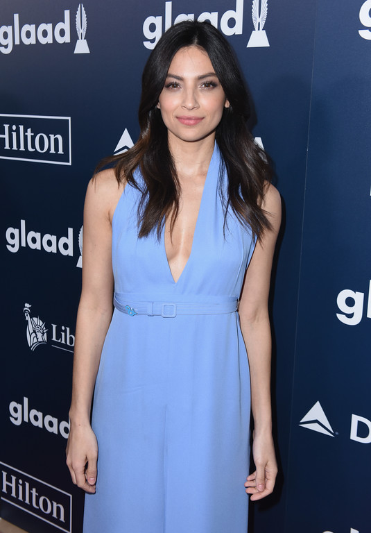 . BEVERLY HILLS, CA - APRIL 01:  Actor Floriana Lima attends the 28th Annual GLAAD Media Awards in LA at The Beverly Hilton Hotel on April 1, 2017 in Beverly Hills, California.  (Photo by Vivien Killilea/Getty Images for GLAAD)