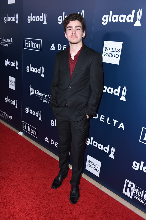 . BEVERLY HILLS, CA - APRIL 01:  Actor Elliot Fletcher  attends the 28th Annual GLAAD Media Awards in LA at The Beverly Hilton Hotel on April 1, 2017 in Beverly Hills, California.  (Photo by Vivien Killilea/Getty Images for GLAAD)