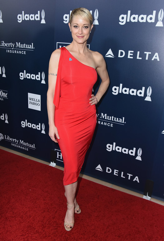 . BEVERLY HILLS, CA - APRIL 01:  Actor Teri Polo attends the 28th Annual GLAAD Media Awards in LA at The Beverly Hilton Hotel on April 1, 2017 in Beverly Hills, California.  (Photo by Vivien Killilea/Getty Images for GLAAD)