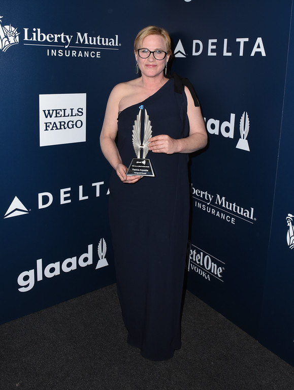 . BEVERLY HILLS, CA - APRIL 01:  Vanguard Award recipient Patricia Arquette attends 28th Annual GLAAD Media Awards in LA at The Beverly Hilton Hotel on April 1, 2017 in Beverly Hills, California.  (Photo by Vivien Killilea/Getty Images for GLAAD)
