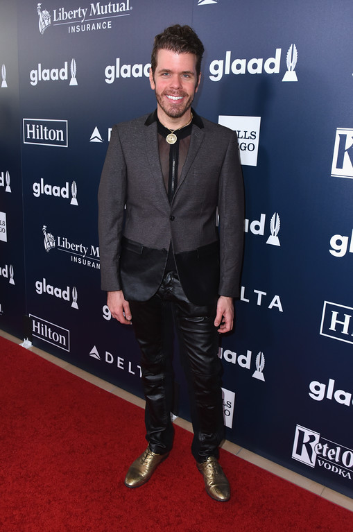 . BEVERLY HILLS, CA - APRIL 01:  Blogger Perez Hiton attends the 28th Annual GLAAD Media Awards in LA at The Beverly Hilton Hotel on April 1, 2017 in Beverly Hills, California.  (Photo by Vivien Killilea/Getty Images for GLAAD)