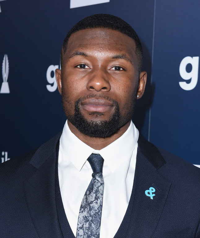 . BEVERLY HILLS, CA - APRIL 01:  Actor Trevante Rhodes attends the 28th Annual GLAAD Media Awards in LA at The Beverly Hilton Hotel on April 1, 2017 in Beverly Hills, California.  (Photo by Vivien Killilea/Getty Images for GLAAD)