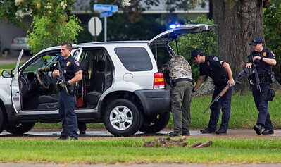 Police Shot Baton Rouge