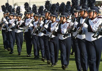 2015 Rose Parade: Cypress High School – Centurion Imperial Brigade, Cypress, Calif.