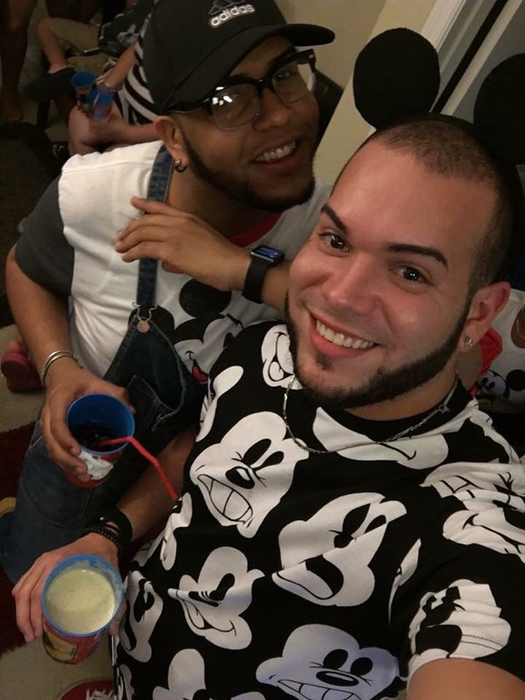 . This undated photo shows Peter O. Gonzalez-Cruz, left, and Gilberto Ramon Silva Menendez, killed in the Pulse nightclub in Orlando, Fla., early Sunday, June 12, 2016. A gunman wielding an assault-type rifle and a handgun opened fire inside the nightclub, killing dozens in the worst mass shooting in modern U.S. history. (Courtesy of Sonia Cruz via AP)
