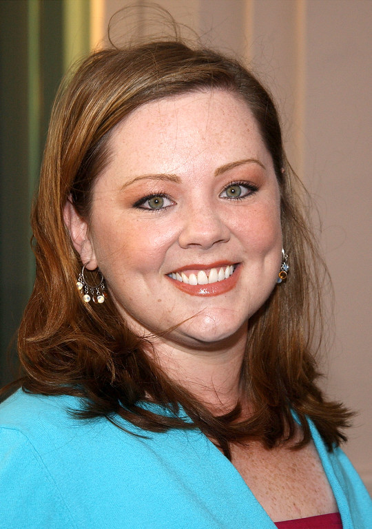 ". Actress Melissa McCarthy attends a behind the scenes discussion of the television show ""Gilmore Girls\"" at the Academy of Television Arts and Sciences on April 21, 2003 in North Hollywood, California. (Photo by Vince Bucci/Getty Images)"