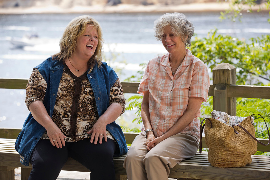 ". This image released by Warner Bros. Pictures shows Melissa McCarthy, left, and Susan Sarandon in a scene from ""Tammy.\"" (AP Photo/Warner Bros. Pictures, Michael Tackett)"