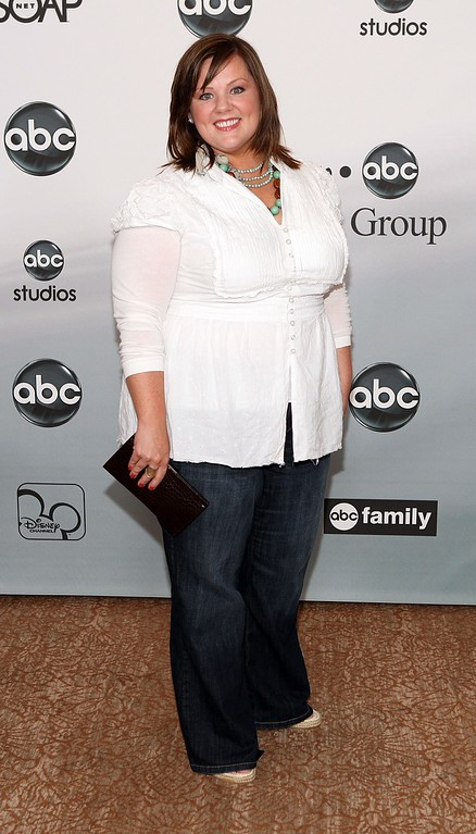. Actor Melissa McCarthy attends the 2007 ABC All Star Party held at the Beverly Hilton Hotel, on July 26, 2007 in Beverly Hills, California. (Photo by Frazer Harrison/Getty Images)
