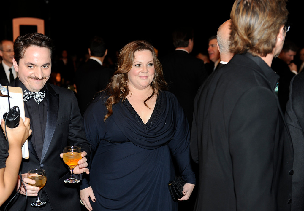 . Melissa McCarthy during the 18th Annual Screen Actors Guild Awards at the Shrine Exposition Center in Los Angeles, California on January 29, 2012.   (John McCoy/Los Angeles Daily News)