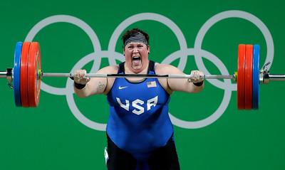 Rio Olympics Weightlifting Women