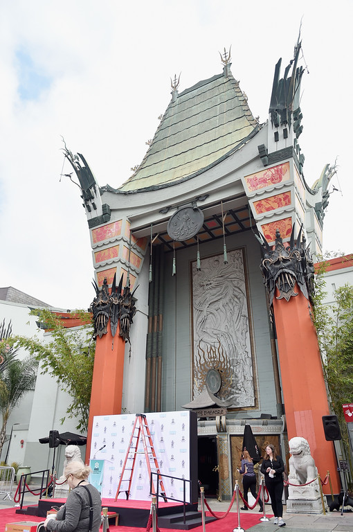 . View of TCL Chinese Theatre exterior at the Francis Ford Coppola Hand and Footprint Ceremony during the TCM Classic Film Festival 2016 on April 29, 2016 in Los Angeles, California.  (Photo by Alberto E. Rodriguez/Getty Images for Turner)