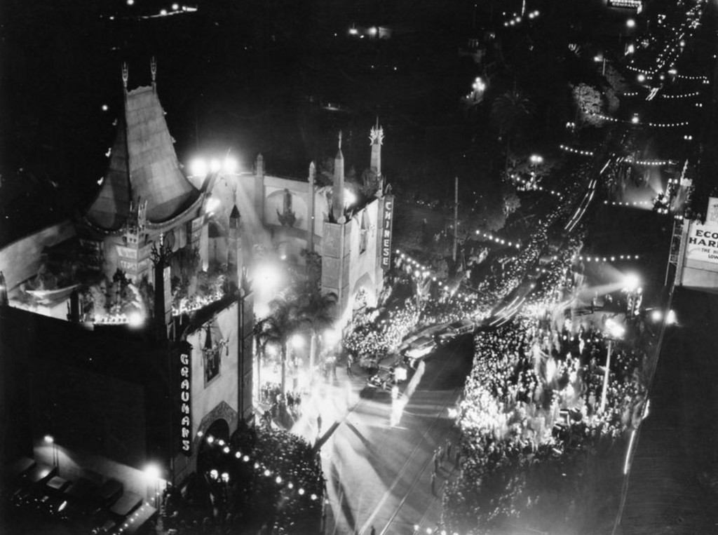 ". Cecil De Mille\'s ""King of Kings\"" opens at Grauman\'s Chinese Theater on May 18, 1927. (Courtesy Los Angeles Public Library)"