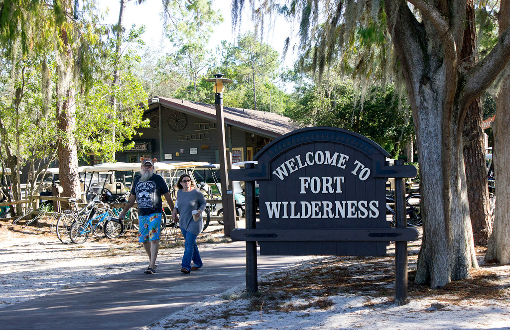 . Fort Wilderness is the place to stay for those wishing to camp in a tent, or a recreational vehicle at Walt Disney World. There are also hiking trails, bicycle trails and horseback riding is offered for a fee. (Photo by Mark Eades, Orange County Register/SCNG) Taken in Orlando at Walt Disney World on Tuesday, January 24, 2017.