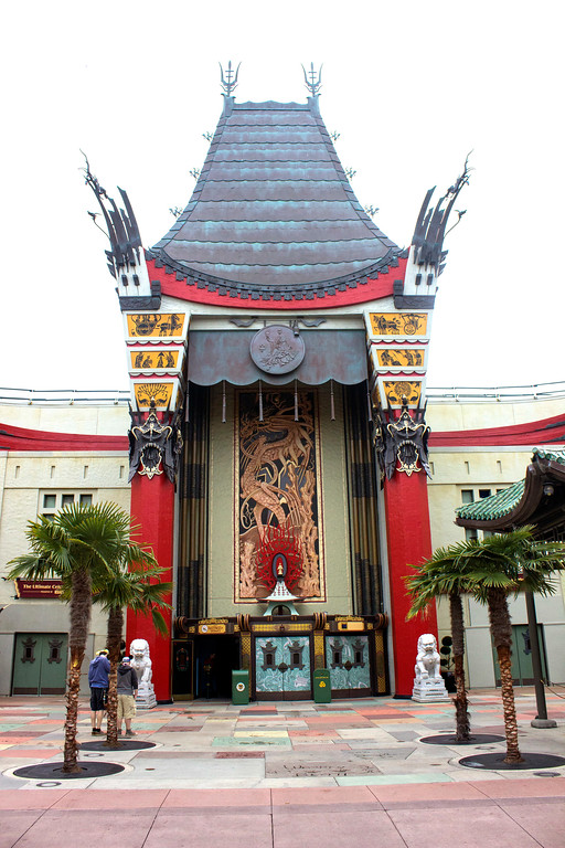 ". A duplicate of Grauman\'s Chinese Theater is the entrance to ""The Great Movie Ride\"" at Disney\'s Hollywood Studios theme park at Walt Disney World. The ride takes people on a journey through the history of the movies, with the late Robert Osborne as narrator. (Photo by Mark Eades, Orange County Register/SCNG) Taken in Orlando at Walt Disney World on Friday, January 27, 2017."