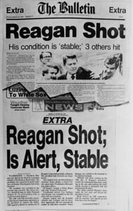 EXTRA EXTRA REAGAN SHOT