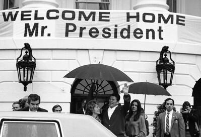 President Ronald Reagan Nancy Reagan Patti Davis