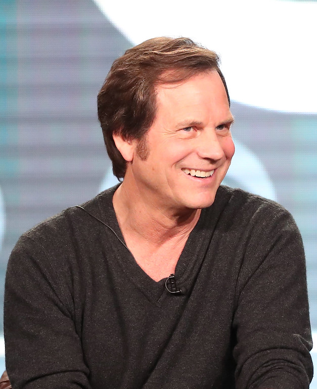 . PASADENA, CA - JANUARY 09:  Actor Bill Paxton of the television show \'Training Day\' speaks onstage during the CBS portion of the 2017 Winter Television Critics Association Press Tour at the Langham Hotel on January 9, 2017 in Pasadena, California.  (Photo by Frederick M. Brown/Getty Images)