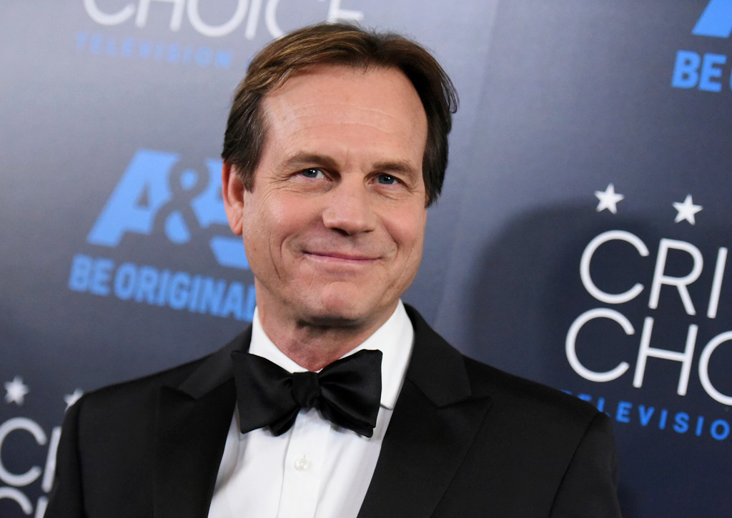 """. FILE - In this May 31, 2015, file photo, Bill Paxton arrives at the Critics\' Choice Television Awards at the Beverly Hilton hotel in Beverly Hills, Calif. A family representative said prolific and charismatic actor Paxton, who played an astronaut in \""""Apollo 13\"""" and a treasure hunter in \""""Titanic,\"""" died from complications due to surgery. The family representative issued a statement Sunday, Feb. 26, 2017, on the death. (Photo by Richard Shotwell/Invision/AP, File)"""