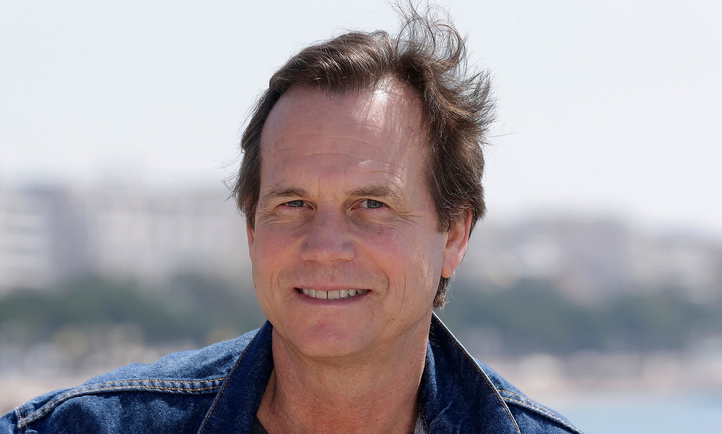 . American actor Bill Paxton poses for photographers during the MIPTV, International Television Programme Market, Monday, April 13, 2015, in Cannes, southern France. He presents the brand new tv series �Texas Rising�.(AP Photo/Lionel Cironneau)