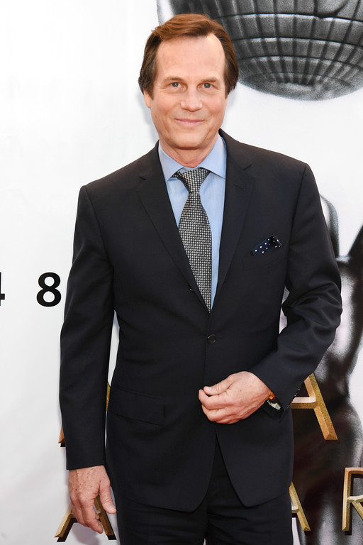 """. Actor Bill Paxton attends the 48th NAACP Image Awards at Pasadena Civic Auditorium on February 11, 2017 in Pasadena, California.  A family representative said prolific and charismatic actor Paxton, who played an astronaut in \""""Apollo 13\"""" and a treasure hunter in \""""Titanic,\"""" died from complications due to surgery. The family representative issued a statement Sunday, Feb. 26, 2017, on the death. (Photo by Paras Griffin/Getty Images )"""