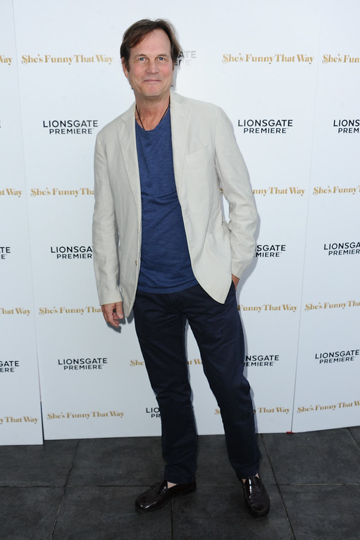 """. Actor Bill Paxton arrives at the LA Premiere of \""""She\'s Funny That Way\"""" held at Harmony Gold Theater on Wednesday, Aug. 19, 2015, in Los Angeles. (Photo by Richard Shotwell/Invision/AP)"""