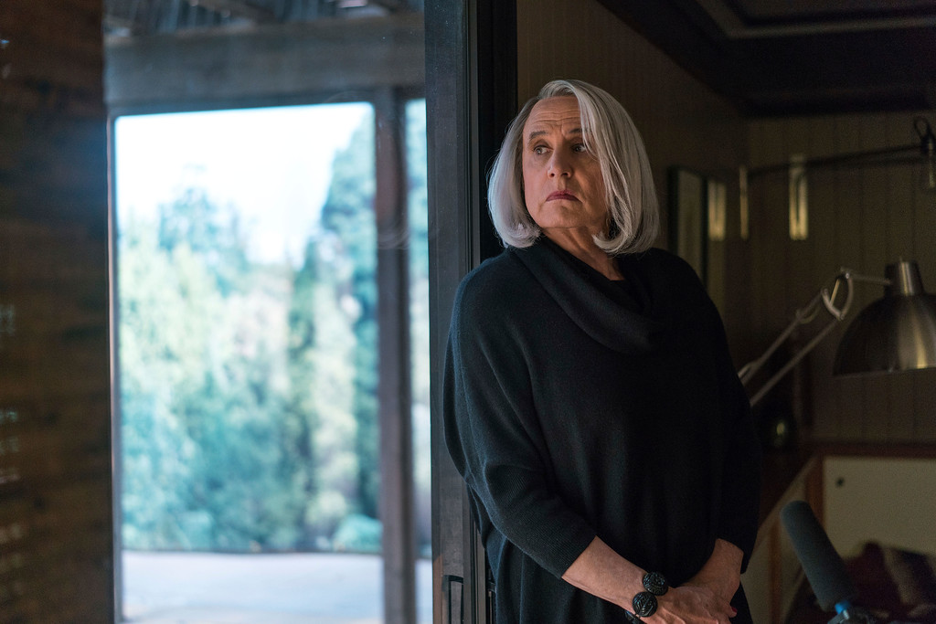 """. This image released by Amazon shows Jeffrey Tambor in \""""Transparent.\""""  Tambor was nominated for an Emmy Award for outstanding lead actor in a comedy series on Thursday, July 13, 2017. The Emmy Awards ceremony, airing Sept. 17 on CBS, will be hosted by Stephen Colbert. (Jennifer Clasen/Amazon via AP)"""