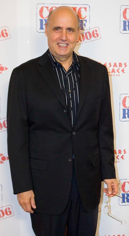 ". Actor/comedian Jeffrey Tambor arrives at \""Comic Relief\"" Saturday, Nov. 18, 2006 at Caesars Palace Hotel and Casino in Las Vegas. (AP Photo/ Keith Shimada)"