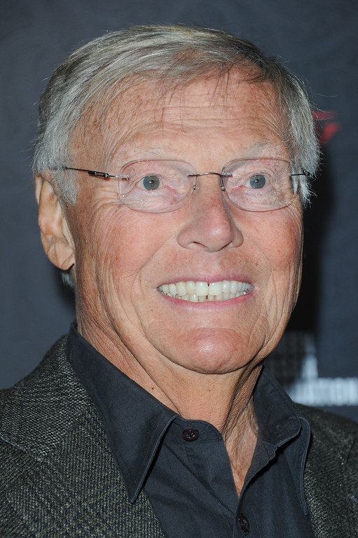 . Adam West arrives at Variety Power of Comedy at Avalon Hollywood on Saturday, Nov. 17, 2012, in Los Angeles. (Photo by Richard Shotwell/Invision/AP)