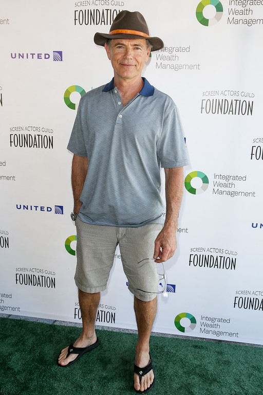 ". Bruce Greenwood arrives at The Screen Actors Guild Foundation 6th Annual Los Angeles Golf Classic at Lakeside Golf Club on Monday, June 8, 2015, in Burbank, Calif. Greenwood will play Gil Garcetti in ""American Crime Story: The People v. O.J. Simpson.\""  (Photo by Rich Fury/Invision/AP)"