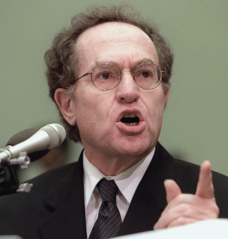 . Harvard Law School Professor Alan Dershowitz testifies before the US House Judiciary Committee 01 December during impeachment hearings on Capitol Hill in Washington, DC.  (LUKE FRAZZA/AFP/Getty Images)