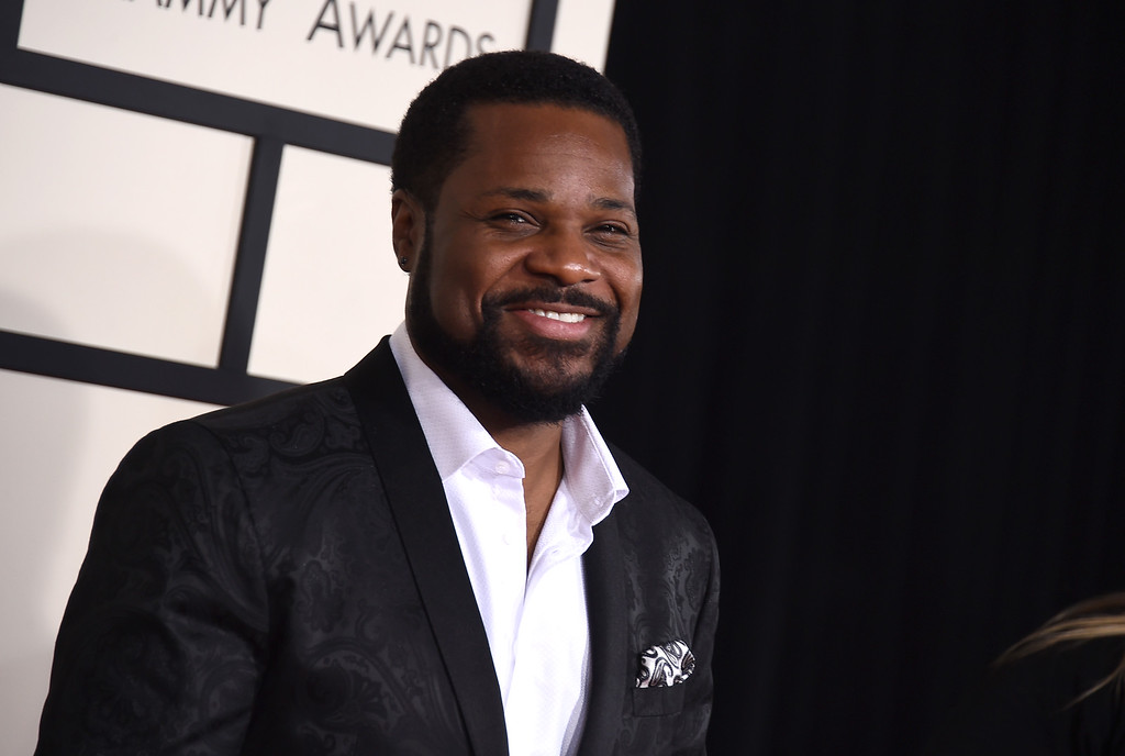 ". Malcolm-Jamal Warner arrives at the 57th annual Grammy Awards at the Staples Center on Sunday, Feb. 8, 2015, in Los Angeles. Warner will play Brown will play Al Cowlings in ""American Crime Story: The People v. O.J. Simpson.\""  (Photo by Jordan Strauss/Invision/AP)"