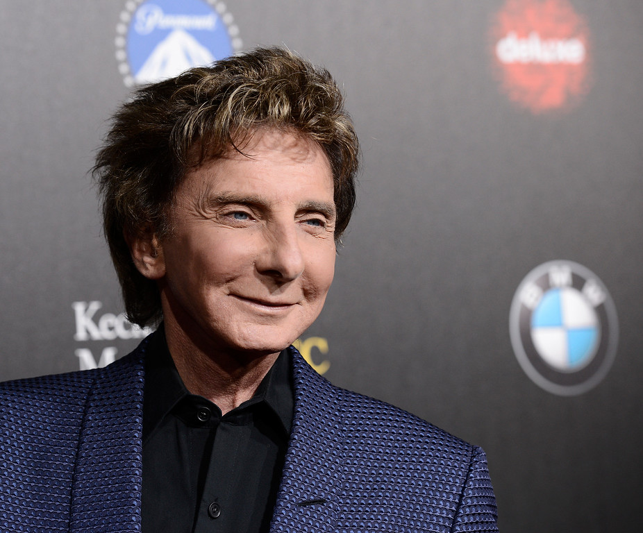 ". Singer Barry Manilow attends the 2nd Annual ""Rebels With a Cause\"" Gala benefiting the USC Center for Applied Molecular Medicine at Paramount Pictures Studios on Thursday, March 20, 2014 in Los Angeles. (Photo by Dan Steinberg/Invision/AP Images)"
