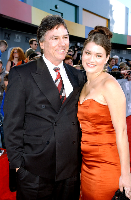 . HOLLYWOOD - MARCH 2:  Actor Richard Hatch and guest attend the TV Land Awards 2003 at the Hollywood Palladium on March 2, 2003 in Hollywood, California.  (Photo by Frank Micelotta/Getty Images)