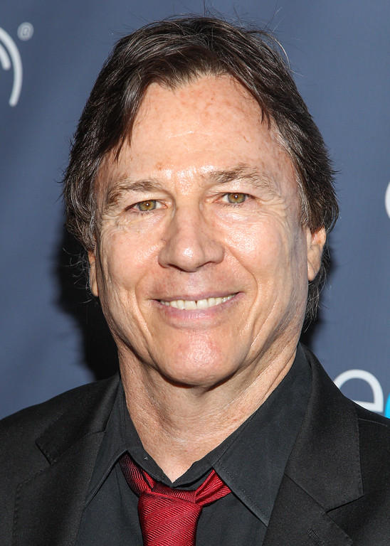 . Actor Richard Hatch arrives at the 2013 Geekie Awards at the Avalon on Sunday, Aug. 18, 2013 in Los Angeles. (Photo by Paul A. Hebert/Invision/AP)