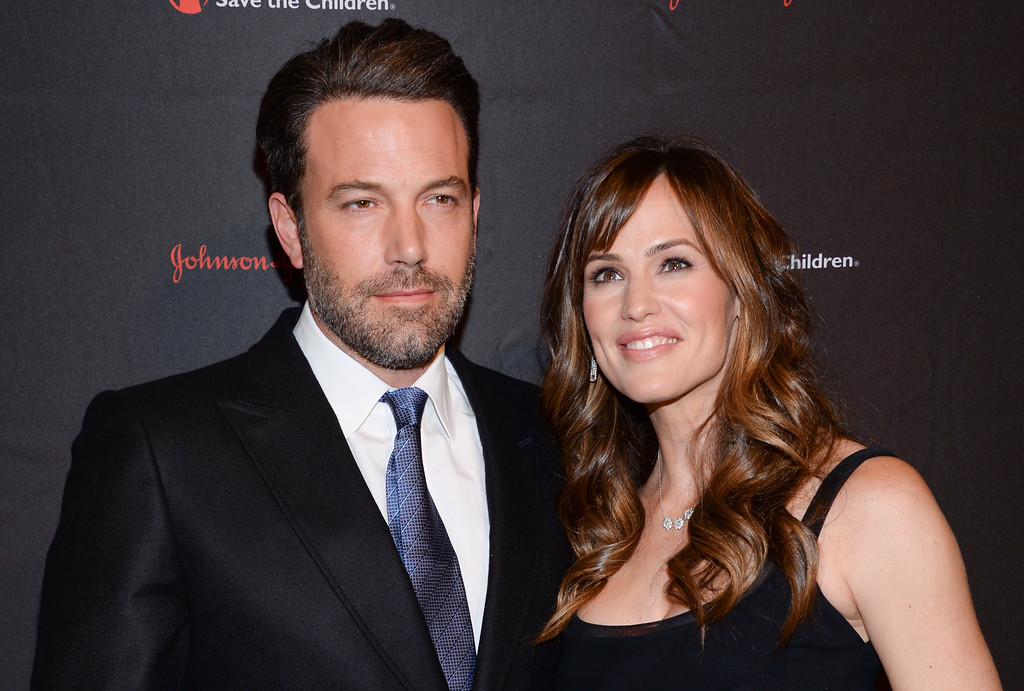 . Actor, filmmaker and Eastern Congo Initiative founder, Ben Affleck and wife actress Jennifer Garner attend the 2nd Annual Save the Children Illumination Gala at The Plaza Hotel on Wednesday, Nov. 19, 2014, in New York. Garner and Affleck filed divorce petitions on Thursday, April 13, 2017, the first step in formally ending their marriage more than a year after they publicly declared their relationship was over. (Photo by Evan Agostini/Invision/AP)