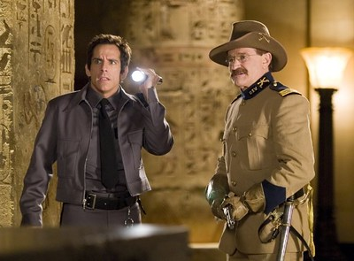 "Robin Williams and Ben Stiller in ""Night at the Museum."" (2006)   (20th Century Fox)"