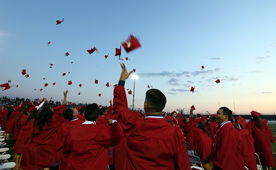 Colony High School's graduating class of 2016 at Colony High School in Ontario, CA Wednesday, May 18, 2016. (Photo by Mark Dustin for Inland Valley Daily Bulletin)