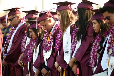 John F. Kennedy High School commencement ceremonies on the campus at William R. Albers Stadium in Granada Hills, CA, Thursday, June 9, 2016  (Hans Gutknecht/Los Angeles Daily News)