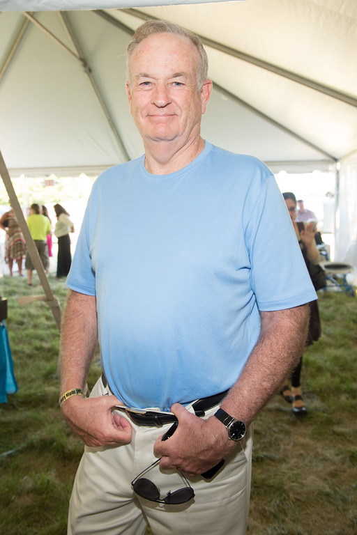. Bill O\'Reilly attends the East Hampton Library Authors Night at Gardiner Farm on August 9, 2014 in East Hampton, New York. (Photo by Scott Roth/Invision/AP)