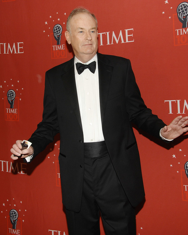 . Fox news anchor Bill O\'Reilly attends Time\'s 100 Most Influential People in the World Gala on Thursday, May 8, 2008 in New York. (AP Photo/Evan Agostini)