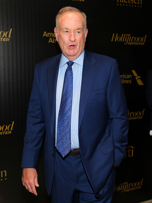 ". Bill O\'Reilly attends The Hollywood Reporter\'s ""35 Most Powerful People in Media\"" celebration at the Four Seasons Restaurant on Wednesday, April 6, 2016, in New York. (Photo by Andy Kropa/Invision/AP)"