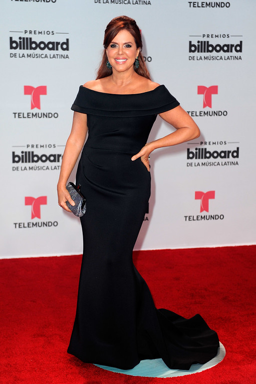 . CORAL GABLES, FL - APRIL 27: Maria Celeste attends the Billboard Latin Music Awards at Watsco Center on April 27, 2017 in Coral Gables, Florida.  (Photo by Sergi Alexander/Getty Images)